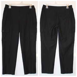 Loft Black Ankle  Pants
